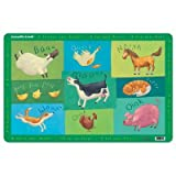 Crocodile Creek Barnyard Placemat, Baby & Kids Zone