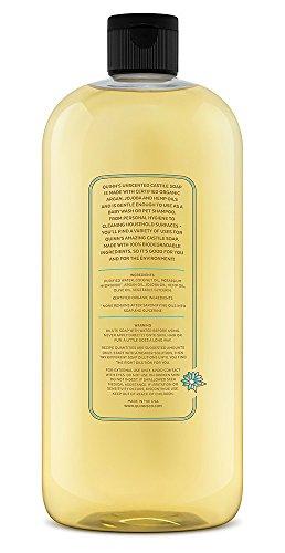 Quinn's Pure Castile Organic Liquid Soap, Unscented, 32 oz by Quinn's (Image #7)