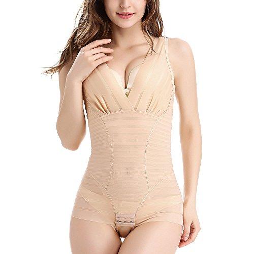 Women's shapewear,High Waist panties seamless firm control bodysuit for women shapewear by OLIKEME (X-Large, Flesh Color)