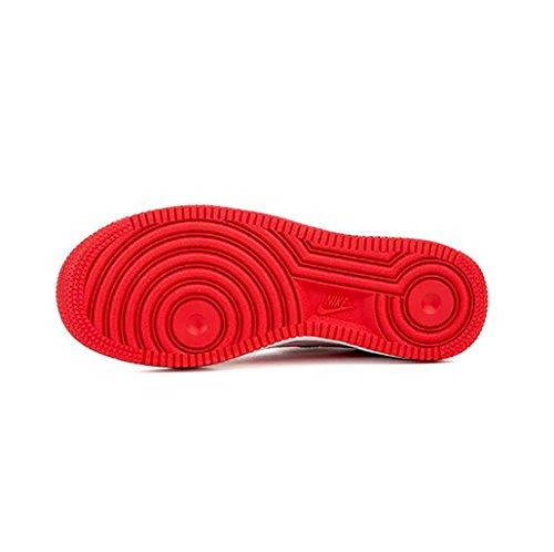 Nike Air Force 1 (gs) Università Rosso / Bianco-nero