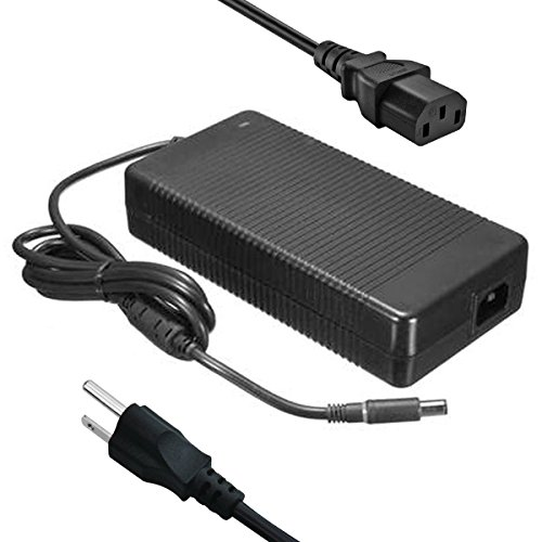 240W 19.5V 12.3A Power AC Adapter Charger PA-9E for DELL Alienware M17x,...