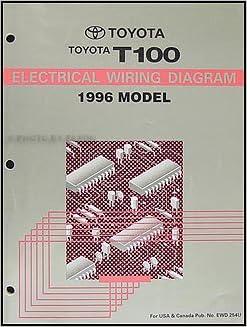 1996 toyota t100 truck wiring diagram manual original: toyota: amazon com:  books
