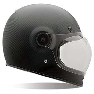 Bell Bullitt Unisex-Adult Full Face Street Helmet (Carbon Matte, Large) (D.O.T.-Certified)