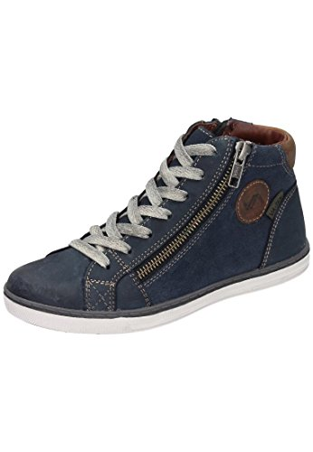 Footwear Navy Vatex Vado Lacedup The Girls' Blue UnIVersity Leder Warm Snow Sneakers Boots Cp8Cq