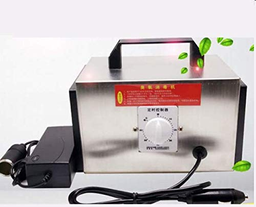zZZ HOT! 10G Car Portable Ozone Generator Air Purifier Disinfection Machine 12V