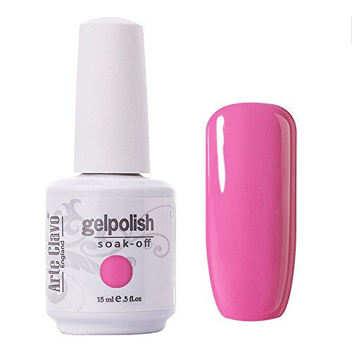 Arte Clavo Gel Polish Soak Off UV LED Lamp Lacquer Nail Art