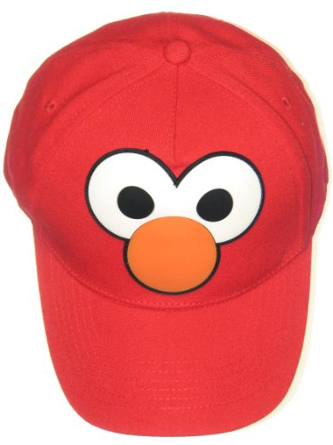 - Sesame Street Elmo Eyes & Nose Boys Baseball Cap UPF 50+ Sun Hat Red Coppertone