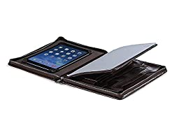Executive Organizer Padfolio for iPad Pro and Letter (A4) Paper,Coffee