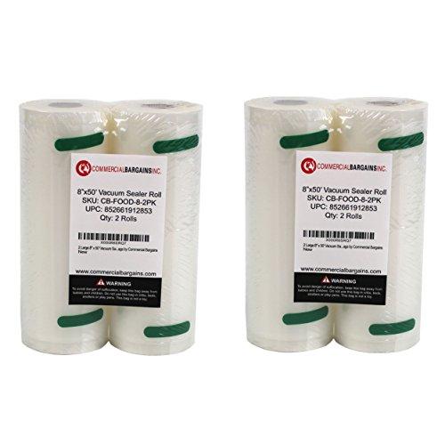 8 x 50 vacuum sealer bags - 8