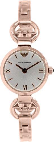Emporio Armani Women's Retro AR1776 Rose-Gold Stainless-Steel Analog Quartz Watch