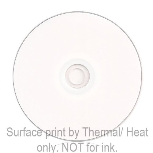 Smart Buy CD-R 100 Pack 700mb 52x Thermal Printable White Blank Recordable Discs, 100 Disc, 100pk by Smart Buy (Image #3)