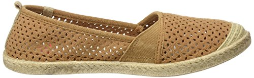 Espadrillas Roxy Basse tan Donna Marrone Flamenco fRRH7Op