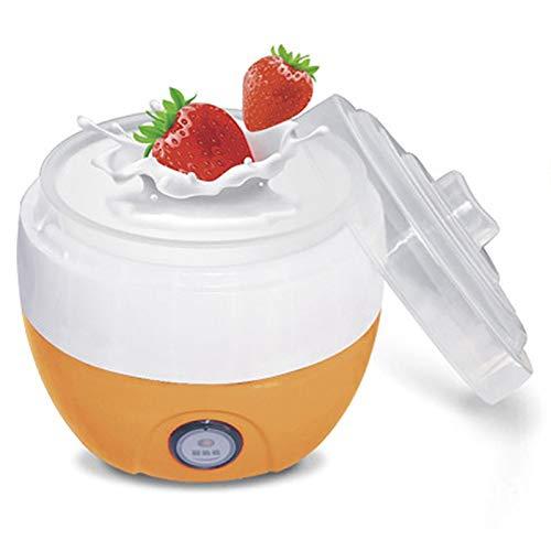 CICIN Household Automatic Yogurt Maker, Electric Automatic Yogurt Maker Machine Yoghurt DIY Tool Plastic Container Kitchen Appliance
