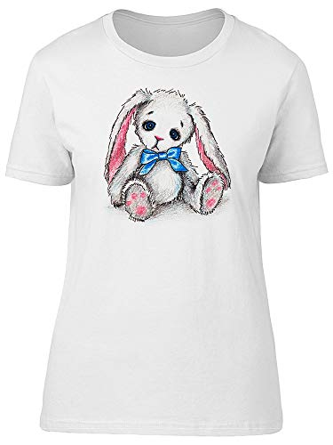 Cute Sad Rabbit Toy Tee Women's -Image by Shutterstock from Teeblox