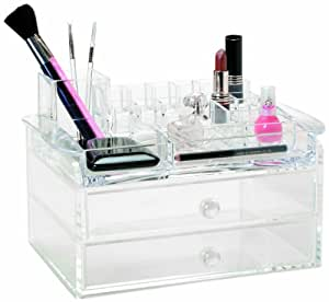Danielle Acrylic Cosmetic Organiser with Drawers