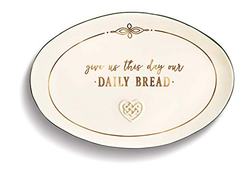 Grasslands Road Give Us This Day Our Daily Bread Celtic Plate, 8