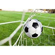 azutura Football Goal Wall Mural Sports Soccer Photo Wallpaper Boys Bedroom Home Decor available in 8 Sizes XXX-Large Digital