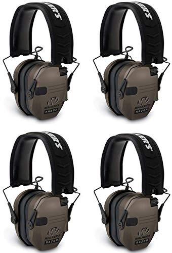 Walker/'s RZR Slim Electronic Folding Muff 23dB NRR-Dark Earth GWP-RSEM-FDE
