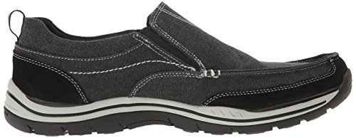 Mocassini Nero Uomo Expected Tomen Skechers 6nq4gX