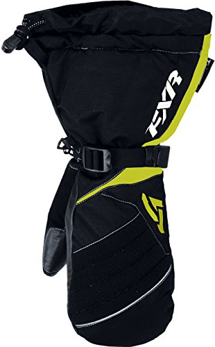 FXR-Snow Fusion Women'S Waterproof Gloves/Mitts,Black/Hi-Vis-Yellow,Small/SM