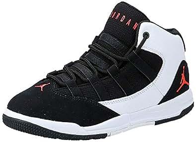 Nike Jordan Max Aura (Ps), Boys' Basketball Shoes, White (White 101), 10.5 UK, (28 EU,) ,NKAQ9216