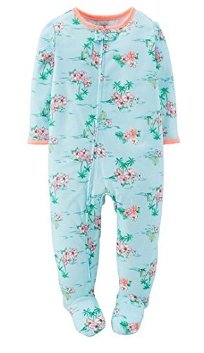 c0a3a9cce Amazon.com   Carter s Baby Girls 1-Piece Pajamas Footed Snug Fit ...