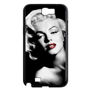 Samsung Galaxy Note 2 N7100 Phone Cases Black Marilyn Monroe BCH987436