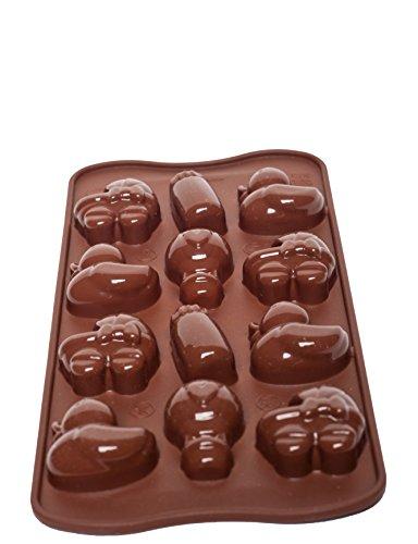 Silikomart Silicone Easy Chocolate Mold, Baby -