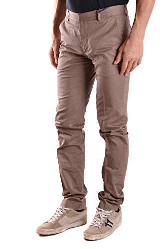 Daniele Alessandrini Homme MCBI086424O Marron Coton Pantalon