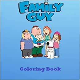 Family Guy Coloring Book Fantastic Coloring for Everyone  Peter