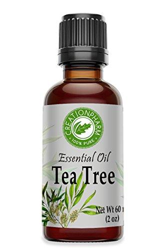 Tea Tree Essential Oil 2 OZ- Tea Tree Oil - Aceite esencial de rbol de t For Aromatherapy Wellness Diffuser Natural Healthy Lifestyle