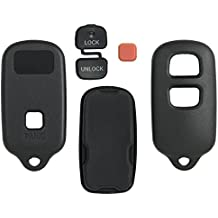 2001 - 2007 TOYOTA HIGHLANDER 3 Button Replacement Key Keyless Remote Shell Pad Cover Fob Case SHELL ONLY