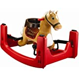 Rockin' Rider Legacy Grow with Me Pony Ride-On, Rocker, Bouncer Convertible to Spring Horse For Kids 15 months to 3 years
