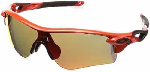 24b28664e08 Oakley - Radarlock Path Asian Fit - Infrared Frame-Prizm Ruby Lenses