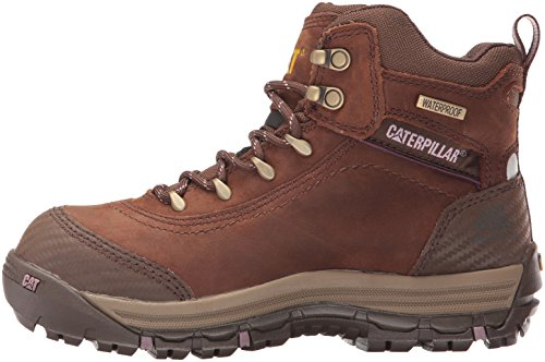 Caterpillar Women's Ally 6'' Waterproof Comp Toe Industrial and Construction Shoe, Brown, 10 W US by Caterpillar (Image #5)