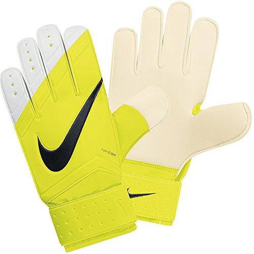 Nike Unisex Goalkeeper (GK) Classic Soccer Gloves-Volt/White-9