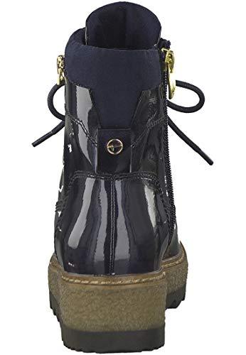 25223 216 grey Pacific 831 Matt Boots Grey Patent 1 Tamaris 21 1 Ankle Women Blau w1qB8B