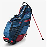 Callaway Golf Stand Bag Fusion 14 Stand Bag (Stand Bag, Navy Camo/Red/White/Flag), Navy Camo/Red/White/Flag