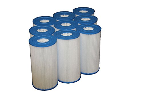 9 Guardian Pool Spa Filter Replaces Unicel C-4335 - Pleatco Prb35-In - Fc-2385 -Rainbow Dynamic Series Iv ()