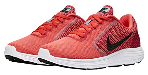 Rosa Donna 602 Da Running 3 Punch Nike Revolution Wmns White Trail hot Aluminum Scarpe Black wnq10aS8a4