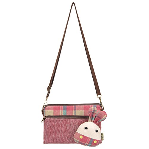 Small Girl Gift Cute Crossbody Wallet Purse Red