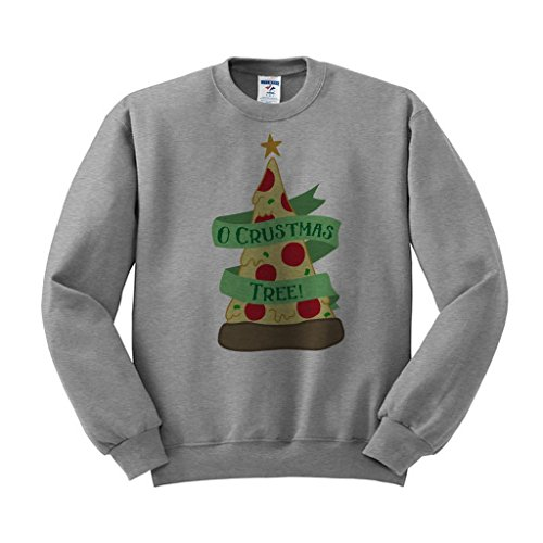 Crustmas Tree Pizza Crewneck Sweatshirt