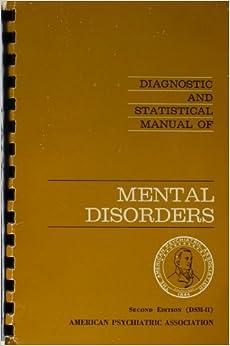 diagnostic and statistical manual of mental disorders dsm