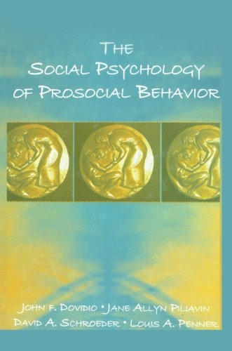 Social Psychology Of Prosocial Behavior