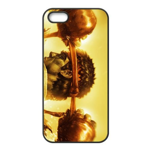 Street Fighter Iv 8 coque iPhone 5 5s cellulaire cas coque de téléphone cas téléphone cellulaire noir couvercle EEECBCAAN02613