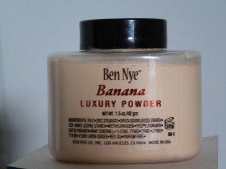 Ben Nye Banana Luxuary Powder - 1.5 oz. 'kim kardashians powder'