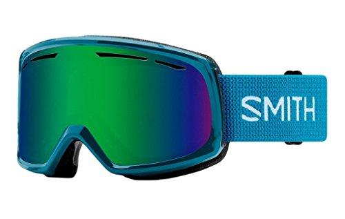 Smith Optics Womens Drift Snow Goggles Mineral Frame/Green Sol-X - Goggles X
