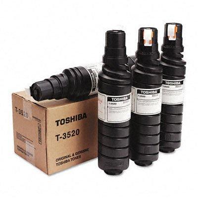 Estudio 350 - Toshiba T3520 Black Copier Toner Cartridge for Toshiba E-Studio 350 by Toshiba