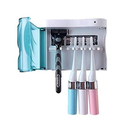Cepillo de dientes esterilizador UV Desinfección Esterilizar cepillo de dientes titular
