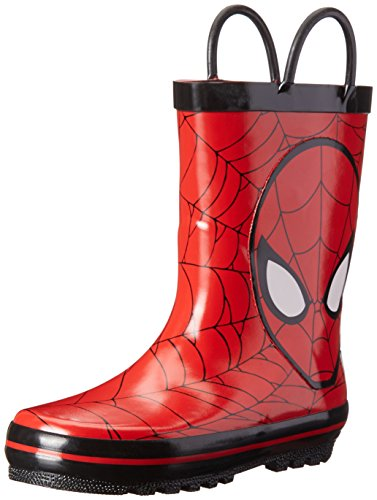 Marvel Spider-Man Rain Boot (Toddler/Little Kid), Red, 8 M US Toddler